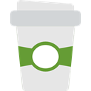cup, Coffee Shop, Take Away, Paper Cup, Coffee, coffee cup, food, hot drink Gainsboro icon