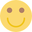 smile, Emoticon, Gestures, Face, interface, smiley, people, smiling, happy Khaki icon