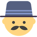 Office Worker People Businessman Office Icon
