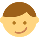 smiling, happy, Emoticon, interface, Face, Gestures, smiley, people, smile Khaki icon