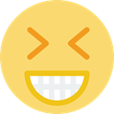 smiling, smile, laughing, happy, happy face, Gestures, interface, happiness Khaki icon