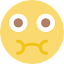 people, interface, smiling, Sick, Emoticon, Emotion, Face, smiley, feelings Khaki icon