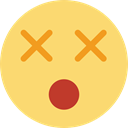 shock, surprised, Emoticon, people, shocked, Gestures, interface, head Khaki icon
