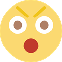 interface, Gestures, Anger, faces, Angry, Face, Emoticon Khaki icon