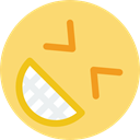 Emoticon, happy, interface, smiley, Gestures, Face, people, smile, smiling Khaki icon