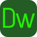 dreamweaver, software, dw, editor, Logo, osx, program, adobe, Mac-os, interface DarkSlateGray icon