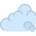 Atmospheric, weather, Cloudy, Cloud, sky, Cloud computing, Clouds Lavender icon