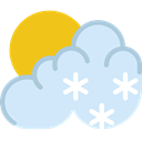 Frost, meteorology, winter, weather, Snow, Morning Snow, Cold Lavender icon