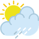 weather, sky, Summer Rain, Storm, Rain, meteorology, rainy Lavender icon