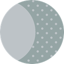 full moon, weather, Astronomy, meteorology, nature, Moon, Moon Phase DarkGray icon