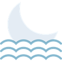 full moon, Moon, Astronomy, Moon Phase, meteorology, nature, weather Black icon