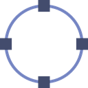 Edit, Oval, interface, Graphic Tool Black icon