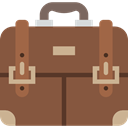 Bag, Briefcase, Business, suitcase, portfolio Sienna icon