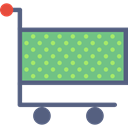 trolley, Shop, Cart, store, shopping, market DarkSeaGreen icon