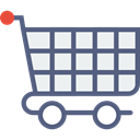 store, market, shopping, Cart, Shop, trolley DimGray icon
