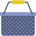 shopping, Container, Purchase, store, Basket, Shop DimGray icon
