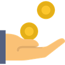 Money, payment, Get Money, Business, profit, Coins LightSalmon icon