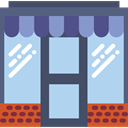 food, Business, store, Shop, commerce LightBlue icon