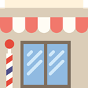Barbershop, Business, Shop, salon, hair, commerce LightGray icon