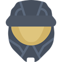 playing, video game, play, helmet, leisure, Game, videogame, gaming DarkSlateGray icon