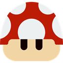 Mushroom, play, video game, leisure, playing, videogame, Game, gaming Wheat icon