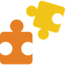 piece, Puzzle, Toy, shapes, Game Chocolate icon