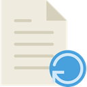 Reload, Archive, document, File, interface Beige icon