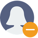 profile, social network, social media, Avatar, user, interface DimGray icon