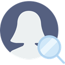 user, social media, profile, social network, Avatar, interface DimGray icon