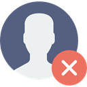 user, social network, interface, social media, profile, Avatar DimGray icon