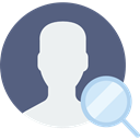 social media, user, interface, Avatar, social network, profile DimGray icon
