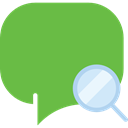 interface, Chat, Conversation, Message, Multimedia, speech bubble, chatting, Speech Balloon YellowGreen icon