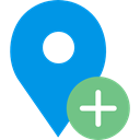Maps And Flags, interface, placeholder, signs, map pointer, pin, Map Location, Map Point DodgerBlue icon