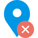 placeholder, signs, Map Location, map pointer, Maps And Flags, interface, Map Point, pin DodgerBlue icon