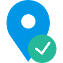 map pointer, Maps And Flags, Map Location, signs, pin, placeholder, Map Point, interface DodgerBlue icon