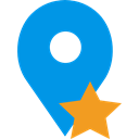 Map Location, Map Point, pin, interface, signs, placeholder, Maps And Flags, map pointer DodgerBlue icon