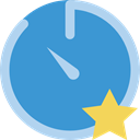 Tools And Utensils, stopwatch, Wait, timer, interface, Chronometer, time SteelBlue icon