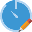 Wait, timer, Tools And Utensils, interface, time, Chronometer, stopwatch SteelBlue icon