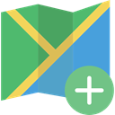 Map, location, interface, Maps And Flags, Orientation, position, Geography MediumSeaGreen icon