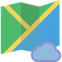 Geography, location, Maps And Flags, Map, interface, Orientation, position MediumSeaGreen icon