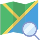 position, location, Map, Maps And Flags, interface, Orientation, Geography MediumSeaGreen icon