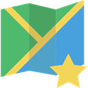 interface, Maps And Flags, Map, Orientation, position, Geography, location MediumSeaGreen icon