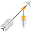 weapon, Archery, indian, weapons, Arrow, Arrows Black icon