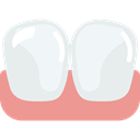 Dentist, mouth, Teeth, dental, medical Lavender icon