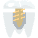 medical, Dentist, Implants, Teeth, mouth, dental, Premolar Lavender icon