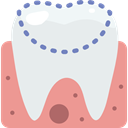medical, Dentist, molar, gum, tooth, dental Icon