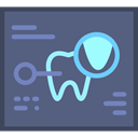 records, medical, dental, Dentist DimGray icon