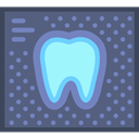 medical, tooth, X Ray, dental, Dentist DimGray icon