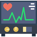 hospital, Electrocardiogram, Cardiogram, medical, Stats, Health Clinic DimGray icon