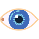 Spiral, medical, Eye, Body Parts, Ophthalmology, vision, Eyes, random, iris Black icon